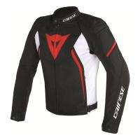 DAINESE AVRO D2 TEX LADY JACKET- BLACK/WHITE/RED куртка текст жен