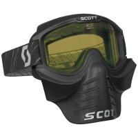 SCOTT зима Очки 83X SAFARI FaceMask black yellow