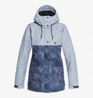 DC SHOES КУРТКА СНОУБОРДИЧЕСКАЯ CRUISER Jkt J SNJT BSN6 DARK BLUE ACID WASH DENIM A