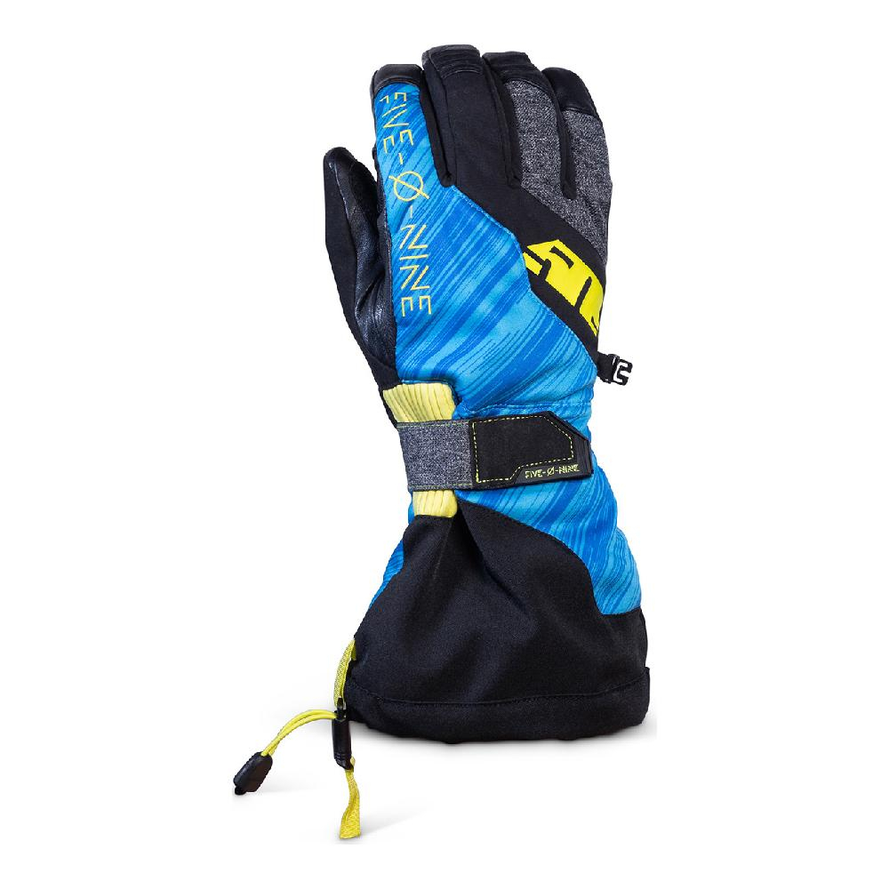 Перчатки 509 Backcountry с утеплителем Blue Hi Vis