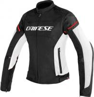 DAINESE D-FRAME LADY TEX JACKET - BLACK/WHITE/RED куртка текстиль жен
