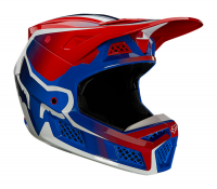Мотошлем Fox V3 RS Wired Helmet Flame Red 2021