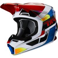 Мотошлем Fox V1 Yorr Helmet Blue/Red