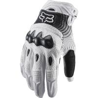 Мотоперчатки Fox Bomber Glove White/Black