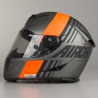 AIROH шлем интеграл GP500 SCRAPE ORANGE MATT
