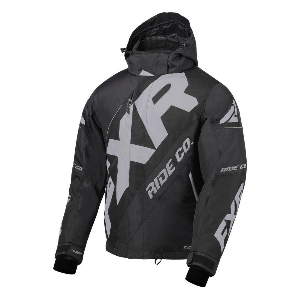 Куртка FXR CX с утеплителем Black/Lt Grey