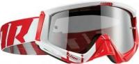THOR GOGGLE SNIPER BARRED RED/WHITE маска кросс