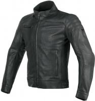 DAINESE BRYAN LEATHER JACKET - BLACK куртка кож муж