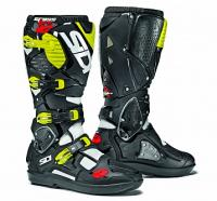 Мотоботы SIDI CROSSFIRE 3 SRS White/Black/Yellow Fluo