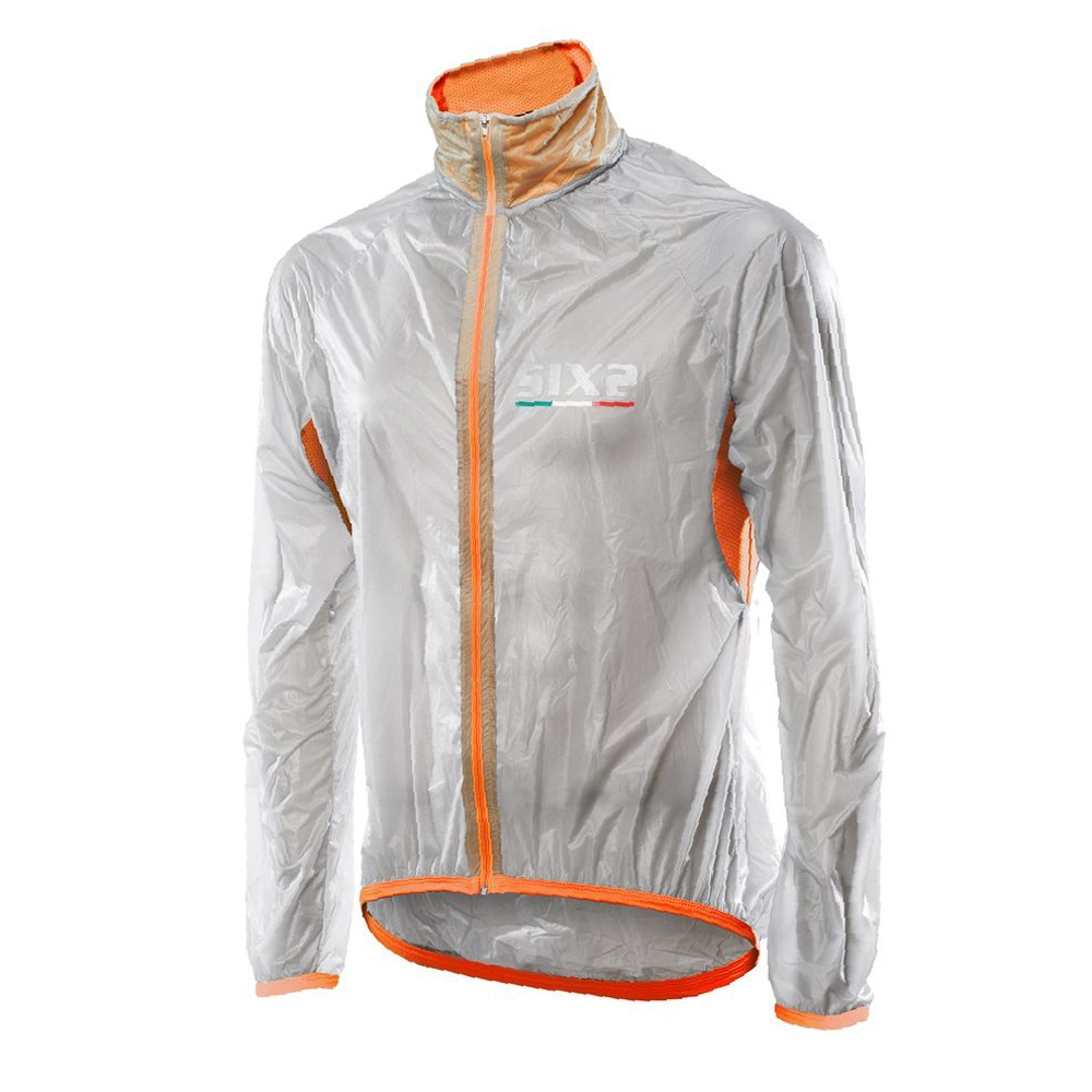 Куртка SIXS GHOST JACKET Orange Fluo