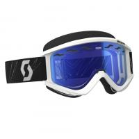 SCOTT зима Очки RecoilXi Snow Cross Safari white sky blue