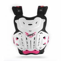Защита панцирь Leatt Chest Protector 4.5 White/Pink Jacki