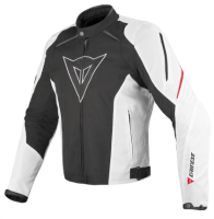 DAINESE LAGUNA SECA TEX JACKET - BLACK/WHITE/RED куртка текстиль муж