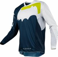 Мотоджерси Fox Flexair Hifeye Jersey Navy/White