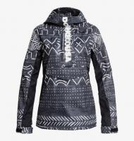 DC SHOES КУРТКА СНОУБОРДИЧЕСКАЯ ENVY ANORAK J SNJT KVJ6 BLACK MUD CLOTH PRINT