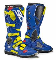 Мотоботы SIDI CROSSFIRE 3 Yellow Fluo/Blue