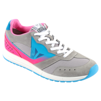 DAINESE PADDOCK LADY SHOES - GRIGIO-CHIARO/FUXIA/BLU-FLUO мотоботы жен
