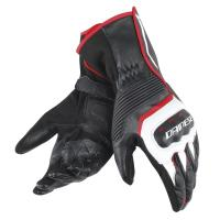 DAINESE ASSEN GLOVES - BLACK/WHITE/LAVA-RED перчатки муж