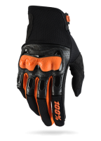Мотоперчатки 100% Derestricted Glove Black/Orange