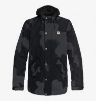 DC SHOES КУРТКА СНОУБОРДИЧЕСКАЯ UNION SE Jkt M SNJT KVJ6 BLACK DCU REFLECTIVE CAMO MEN
