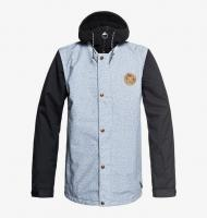 DC SHOES КУРТКА СНОУБОРДИЧЕСКАЯ DCLA Jkt M SNJT BFW6 LIGHT BLUE ACID WASH DENIM B