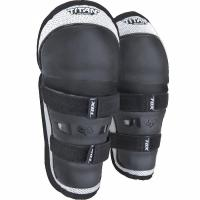Наколенники детские Fox Titan Knee/Shin Kids Guard Black/Silver
