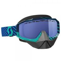 SCOTT зима Очки HUSTLE SNOW CROSS blue/teal sky blue