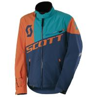 SCOTT зима Куртка Shell Pro aqua blue/orange