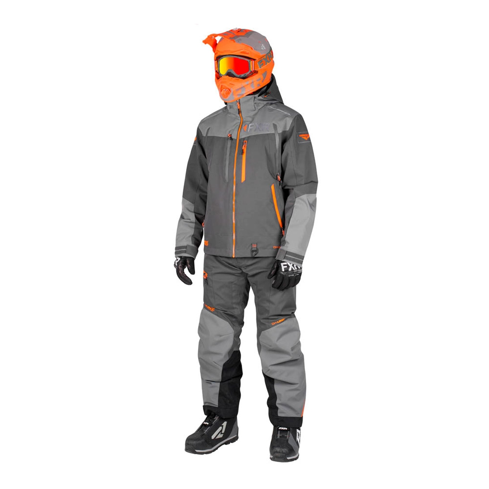 Комплект FXR Elevation Dri-Link без утеплителя Char/Grey/Orange