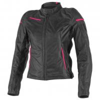 DAINESE MICHELLE LADY LEATHER JACKET - FUMO/NERO/FUXIA куртка кож жен
