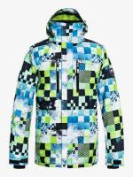 QUIKSILVER КУРТКА СНОУБОРДИЧЕСКАЯ MISSION PR JK M SNJT GJZ4 LIME GREEN_MONEY TIME