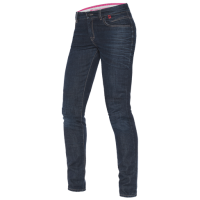DAINESE BELLEVILLE LADY SLIM JEANS - MEDIUM-DENIM джинсы жен