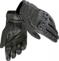 DAINESE AIR HERO GLOVES - BLACK/BLACK перчатки комб муж