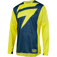 Мотоджерси Shift Black Mainline Jersey Yellow/Navy