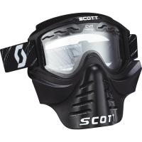 SCOTT зима Очки 83X SAFARI FaceMask black clear
