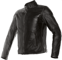 DAINESE MIKE LEATHER JACKET - BLACK куртка кож муж