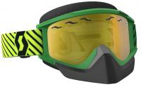 SCOTT зима Очки RecoilXi Snow Cross green/yellow yellow