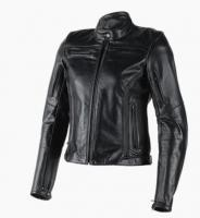 DAINESE NIKITA LADY LEATHER JACKET - MATT-BLACK/MATT-BLACK куртка кож жен
