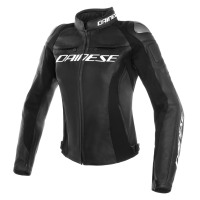 DAINESE RACING 3 LADY LEATHER JACKET - BLACK/BLACK/BLACK куртка кож жен