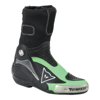 DAINESE AXIAL PRO IN BOOTS - BLACK/FLUO-GREEN ботинки муж