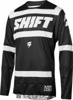 Мотоджерси Shift Black Strike Jersey Black/White