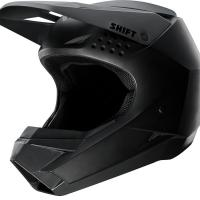 Мотошлем Shift White Helmet Matte