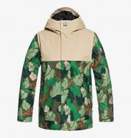DC SHOES КУРТКА СНОУБОРДИЧЕСКАЯ DEFY YOUTH Jkt  B SNJT GRY6 CHIVE LEAF CAMO YOUTH