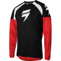 Мотоджерси Shift Whit3 Label Race 1 Jersey Black/Red 2020
