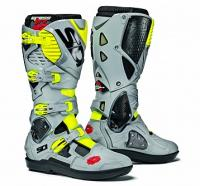 Мотоботы SIDI CROSSFIRE 3 SRS Black/Ash/Yellow Fluo
