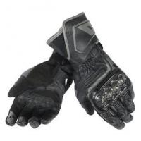 DAINESE CARBON D1 LONG GLOVES - NERO/NERO/NERO перчатки муж