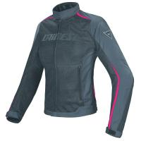 DAINESE HYDRA FLUX LADY D-DRY JACKET - BLACK/EBONY/FUCHSIA куртка тек жен