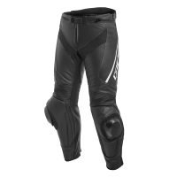 DAINESE DELTA 3 LEATHER PANTS - BLACK/BLACK/WHITE брюки кож