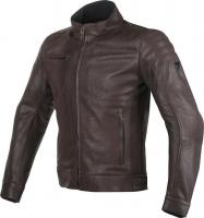 DAINESE BRYAN LEATHER JACKET - BROWN куртка кож муж