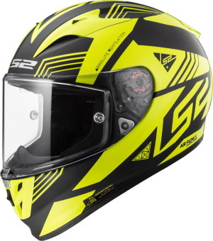 Мотошлем  LS2 FF323 R Evo MOTO GP YELLOW/BLACK